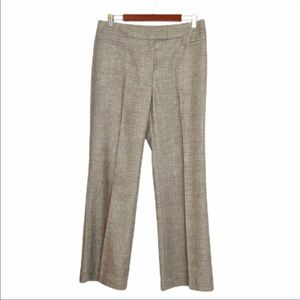 Lafayette 148 Light Brown Tweed Pants-10